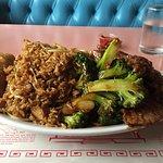 Beef and Broccoli combination