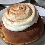 Cinnamon Roll - can get Nutella frosting on the side