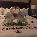 The most beautiful towel art from our Butlers all week.