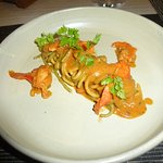pasta and lobster course