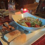 Accueil très chaleureux, repas de très bonne qualité -et visuelle et gustative- et cadre très ag