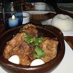 Costillas y arroz