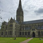 Dramatic views of the cathedral from lawn...uncluttered by other buildings