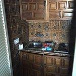 Cocina...dentro de un armario...