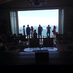 Great Pacific views.  Breathtaking in North, South an West views.  We had Sunday brunch on he la