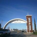 acceso a la ciudad de La Paz