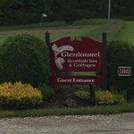 Glenlaurel Entrance Near end of Golf Course