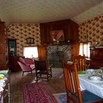 Inside the Surveyor's parlor