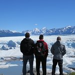 After taking the boat ride, we explored land next to the Knik Glacier.