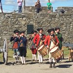 Fife and Drum corps at Fort Ticonderoga