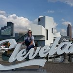 Our Grand Daughter on Top Of Cleveland