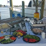Catering on the water