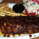 Full rack of Jack Daniel's ribs