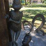 Dr. Seuss Sculpture Garden