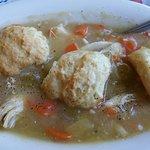 Chicken & Dumplings,,hot & delicious!