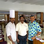With Chef Vimal & Order Taker Thomas