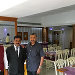 With Senior Steward Sebastian & Captain Arun