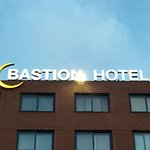 Bastion Hotel Sign.