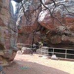 Rock Shelters of Bhimbetka Foto