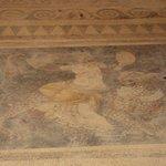 mosaico casa maschere