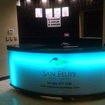 Ya cambió de nombre  se llama hotel nuevo San felipe. Ahí mismo se encuentra las oficinas de tur