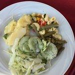 Ein Teil des Salatbuffets :-)