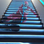Le scale raccontano le immagini dello sport invernale.