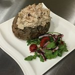 Lunchtime Baked Potato with our freshly prepared Tuna Mayo