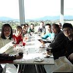 lunch at yering vineyard.