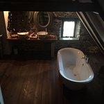 la salle de bains de la chambre Olive