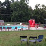Around the campground, pool, & shower house