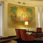 Upper lobby detail