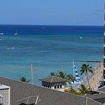 Ocean view room Waikiki Beach.