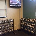 Impressive fitness centre