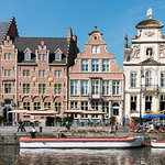 Ghent Marriott Hotel sits in the historic city centre
