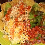 Taco salad - the only salad they have. Fortunately, it was good.