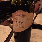 Amazing bottle of red