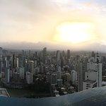 Vista panorámica por el día desde el Panaviera Trump Tower Panama piso 66
