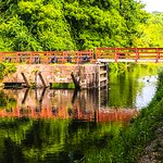 Bridge across the canal.