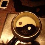 Ying Yang choclolate fondue