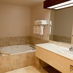 Remodeled bathrooms with jet tub