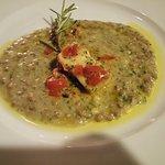 Guazzetto con pesce spada e lenticchie