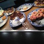 Donut food station