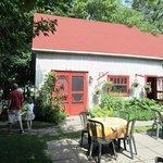 Café du Clocher, une belle terrasse extérieure