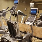 Fitness center has everything needed for a great workout