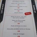 Les menus