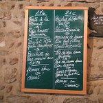 Les menus à 17 et 21 euros