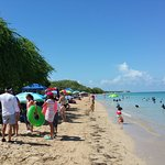 Sunset at Combate Beach & the Cabo Rojo National Wildlife Refuge...