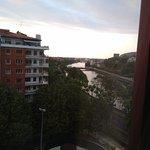Vistas hacia el centro, Río Urumea
