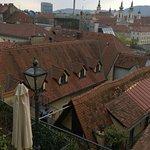 Von der Dachterrasse zum Hotel
